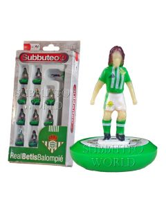 REAL BETIS 1ST. NEW PAUL LAMOND OFFICIAL LICENSED SUBBUTEO TEAM.