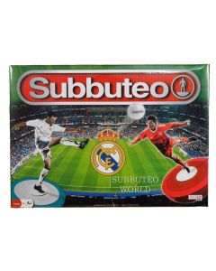 REAL MADRID 2017 OFFICIAL LICENSED SUBBUTEO BOX SET.