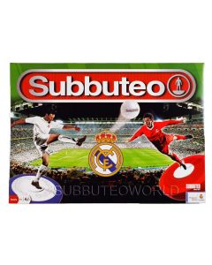 001. REAL MADRID 2021 OFFICIAL LICENSED SUBBUTEO BOX SET. Now With New Design Flexible Figures.