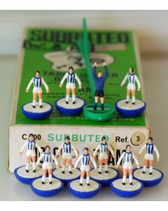 Z003. WEST BROMWICH ALBION. Hand Painted Team, numbered box.