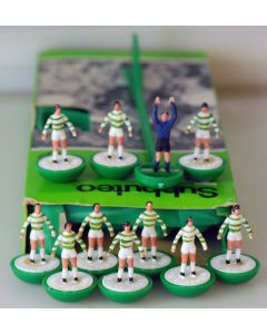Z025. CELTIC. SHAMROCK ROVERS. Late 70's Hand Painted Team, original box.