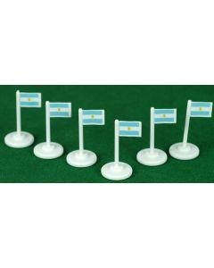 001. ARGENTINA CORNER FLAGS.