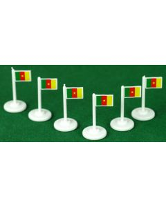 001. CAMEROON CORNER FLAGS.