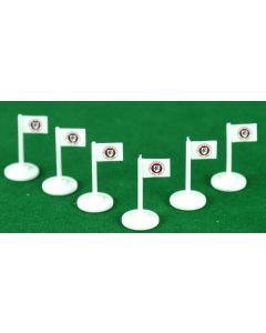CHESTERFIELD CORNER FLAGS.
