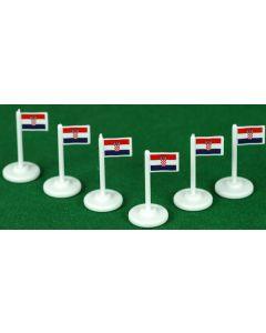 001. CROATIA CORNER FLAGS.