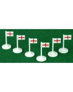 001. ENGLAND CORNER FLAGS.