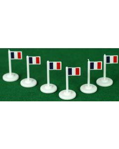 001. FRANCE CORNER FLAGS.