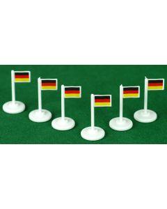 001. GERMANY CORNER FLAGS.