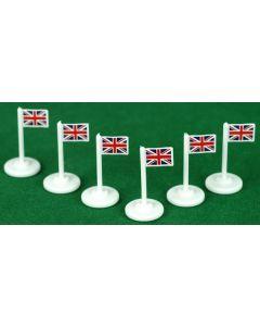 001. GREAT BRITAIN CORNER FLAGS.