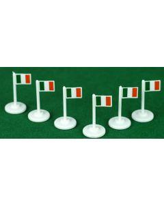 001. IRELAND CORNER FLAGS.