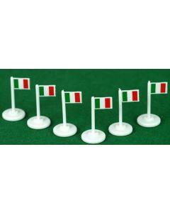 001. ITALY CORNER FLAGS.