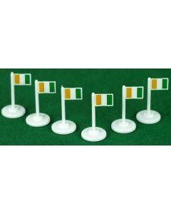 001. IVORY COAST CORNER FLAGS.