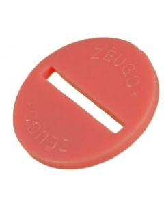 ZEUGO. ONE PINK ZEUGO DISC. NO BASE.