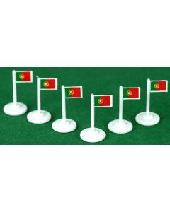 001. PORTUGAL CORNER FLAGS.