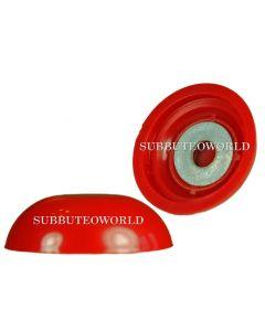 ZEUGO. ONE RED ZEUGO HW ROUNDED BASE & METAL WASHER. NO DISC.