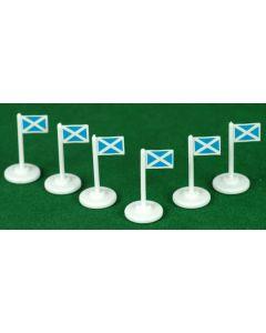 001. SCOTLAND CORNER FLAGS.