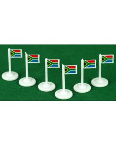 001. SOUTH AFRICA CORNER FLAGS.