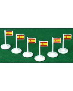 001. SPAIN CORNER FLAGS.