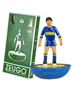 BOCA JUNIORS. MADE BY ZEUGO WITH ROUNDED HW BASES. REF 393.
