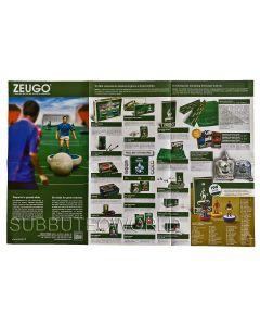 NEW 2013 ZEUGO POSTER TEAM CHART