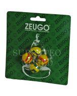 10056. ZEUGO 18mm TOURNAMENT BALLS. Blister Pack Of 4 Balls.