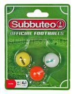 01. NEW 22mm SUBBUTEO BALL PACK. PAUL LAMOND.