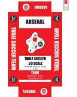 ARSENAL 1ST. self adhesive team box labels.