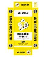 VILLARREAL. self adhesive team box labels.