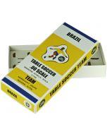 BRAZIL 1ST. COLOURED TEAM HOLDER BOX.