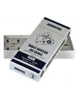 JUVENTUS 1ST - WHITE SHORTS. COLOURED TEAM HOLDER BOX.
