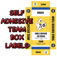Subbuteo Team Box Labels
