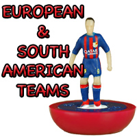 European/South American Subbuteo Teams
