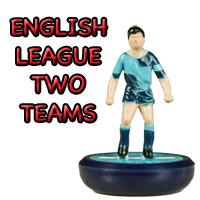 League 2 Subbuteo Teams