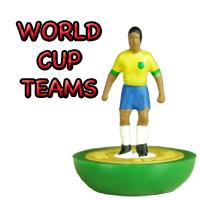 World Cup Subbuteo Teams